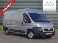 USED 2014 64 PEUGEOT BOXER 2.2 HDI 335 L3H2 PROFESSIONAL 1d 130 BHP LONG WHEEL BASE, FULL HISTORY