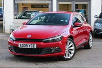 USED 2009 09 VOLKSWAGEN SCIROCCO GT 2.0 TSI 200PS COUPE FULL LEATHER ** SAT-NAV ** BLUETOOTH ** PARK AID