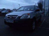 2003 HONDA CR-V 2.0 I-VTEC SE 5d 148 BHP £1295.00