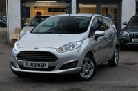USED 2013 63 FORD FIESTA 1.2 ZETEC 3d 81 BHP FSH ** £30 ROAD TAX ** BLUETOOTH ** PARK AID ** IPOD