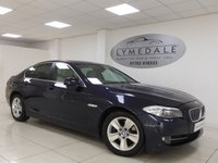 2012 BMW 5 SERIES 2.0 520D EFFICIENTDYNAMICS 4d 181 BHP £9990.00