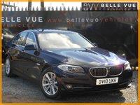 2010 BMW 5 SERIES 3.0 530D SE 4d AUTO 242 BHP £10495.00