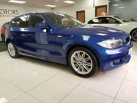 2010 BMW 1 SERIES 2.0 118D M SPORT 5d LEATHER HEATED SEATS £5990.00