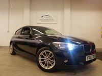 2013 BMW 1 SERIES 1.6 116D EFFICIENTDYNAMICS 3d 114 BHP £7175.00