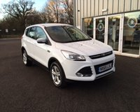 USED 2015 65 FORD KUGA 2.0 TDCI ZETEC 150 BHP THIS VEHICLE IS AT SITE 1 - TO VIEW CALL US ON 01903 892224