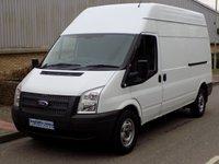 2013 FORD TRANSIT 2.2 FWD 350 LWB HIGH ROOF 125 BHP 6 SPEED £6495.00