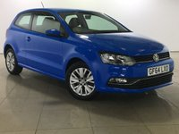 USED 2014 64 VOLKSWAGEN POLO 1.0 SE 3d 60 BHP 1 Owner/Bluetooth/DAB Radio