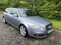 USED 2007 07 AUDI A6 AVANT 2.7 TDI S LINE 5d 177 BHP 6 MONTHS PARTS+ LABOUR WARRANTY+AA COVER