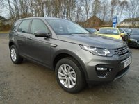 2016 LAND ROVER DISCOVERY SPORT 2.0 TD4 SE TECH 5d AUTO 180 BHP £28995.00
