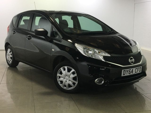 View our 2014 64 NISSAN NOTE 1.5 DCI VISIA 5d 90 BHP