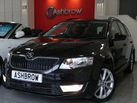 USED 2015 65 SKODA OCTAVIA ESTATE 2.0 TDI SE L 5d 150 S/S UPGRADE SE-L PLUS PACK INCLUDING PARK ASSIST AND ADAPTIVE CRUISE CONTROL (ACC), UPGRADE SPACE SAVING SPARE WHEEL, UPGRADE TOOL KIT, SAT NAV, DAB RADIO, BLUETOOTH PHONE & MUSIC STREAMING, FRONT & REAR PARKING SENSORS WITH DISPLAY (PARK PILOT), AUX & USB INPUTS,  LEATHER ALCANTARA INTERIOR, SPORT STYLE SEATS, DRIVING MODE SELECTION, ELECTRIC HEATED FOLDING DOOR MIRRORS, 1 OWNER FROM NEW, SERVICE HISTORY, BALANCE OF MANUFACTURERS WARRANTY, £20 ROAD TAX