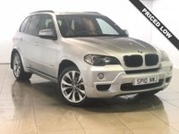 USED 2010 10 BMW X5 3.0 XDRIVE35D M SPORT 5d AUTO 282 BHP 18000.00 BMW Fitted Extras
