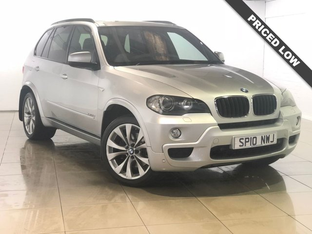 View our 2010 10 BMW X5 3.0 XDRIVE35D M SPORT 5d AUTO 282 BHP