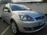 USED 2007 57 FORD FIESTA 1.2 ZETEC CLIMATE 16V 5d 78 BHP GUARANTEED TO BEAT ANY 'WE BUY ANY CAR' VALUATION ON YOUR PART EXCHANGE