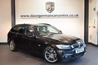 USED 2011 61 BMW 3 SERIES 2.0 320D SPORT PLUS EDITION TOURING 5DR AUTO 181 BHP + FULL BLACK LEATHER INTERIOR + FULL SERVICE HISTORY + PRO SATELLITE NAVIGATION + PANORAMIC ROOF + BLUETOOTH + SPORT SEATS + CRUISE CONTROL + AUTO AIR CONDITIONING + LIGHT PACKAGE + PARKING SENSORS + 18 INCH ALLOY WHEELS +