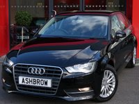 USED 2015 64 AUDI A3 SPORTBACK 1.6 TDI SE TECHNIK 5d 110 S/S SAT NAV, REAR ACOUSTIC PARKING SENSORS, CRUISE CONTROL, DAB DIGITAL RADIO, BLUETOOTH PHONE & MUSIC STREAMING, AUDI MUSIC INTERFACE FOR IPOD/USB DEVICES (AMI), LEATHER MULTIFUNCTION STEERING WHEEL, AIR CONDITIONING, CD HIFI WITH 2x SD CARD READERS, 1 OWNER FROM NEW, FULL AUDI SERVICE HISTORY, £0 ROAD TAX (99 G/KM)