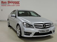 USED 2015 64 MERCEDES-BENZ C-CLASS 1.6 C180 AMG SPORT EDITION 2d AUTO 154 BHP