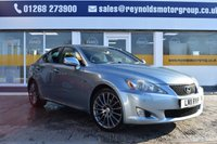 USED 2011 11 LEXUS IS 2.5 250 F SPORT 4d AUTO 204 BHP THE CAR FINANCE SPECIALIST
