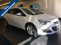 USED 2013 63 VAUXHALL ASTRA 1.6 SRI 5d 113 BHP FULLY PREPARED INCLUDING FULL SERVICE, FULL EXTERIOR BODY DETAILING,