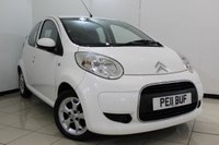 USED 2011 11 CITROEN C1 1.0 VTR PLUS 5DR 68 BHP SERVICE HISTORY + AIR CONDITIONING + RADIO/CD + AUXILIARY PORT + 14 INCH ALLOY WHEELS