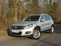 2013 VOLKSWAGEN TIGUAN 2.0 SE TDI BLUEMOTION TECHNOLOGY 5d 138 BHP £10995.00
