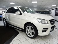 2014 MERCEDES-BENZ M CLASS ML350 BLUETEC AMG SPORT AUTO 258 BHP £25925.00