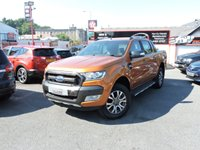 USED 2018 FORD RANGER WILDTRACK 3.2 TD AUTO