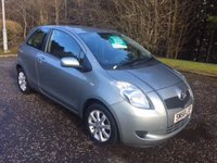USED 2009 58 TOYOTA YARIS 1.3 TR VVTI 3d 86 BHP 6 MONTHS PARTS+ LABOUR WARRANTY+AA COVER