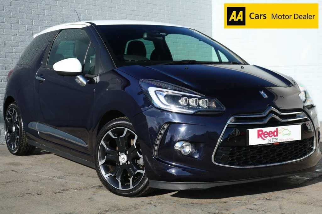2015 15 CITROEN DS3 1.6 THP DSPORT S/S 3d 163 BHP