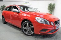 2012 VOLVO V60 2.0 D3 R-DESIGN 5d 161 BHP £SOLD