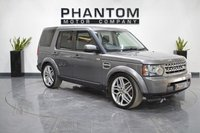 2010 LAND ROVER DISCOVERY 3.0 4 SDV6 GS 5d 245 BHP £16490.00