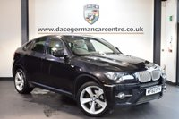 USED 2010 60 BMW X6 3.0 XDRIVE40D 4DR AUTO 302 BHP + FULL CREAM LEATHER INTERIOR + EXCELLENT SERVICE HISTORY + PRO SATELLITE NAVIGATION + PANORAMIC SUNROOF + HEATED SPORT SEATS WITH MEMORY + REVERSE CAMERA + XENON LIGHTS + HEATED REAR SEATS + BLUETOOTH + CRUISE CONTROL + PARKING SENSORS + 20 INCH ALLOY WHEELS +