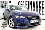 USED 2014 64 AUDI A3 1.6 TDI SPORT 3DR AUTOMATIC 109 BHP 1 OWNER Bluetooth Cheap Road Tax 1 Owner Service History Bluetooth 0% Finance