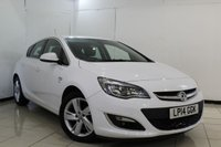USED 2014 14 VAUXHALL ASTRA 1.6 SRI 5DR AUTOMATIC 115 BHP SERVICE HISTORY + CRUISE CONTROL + PARKING SENSOR + MULTI FUNCTION WHEEL + AIR CONDITIONING + 17 INCH ALLOY WHEELS