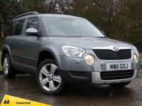 USED 2011 11 SKODA YETI 2.0 SE TDI CR 5d 109 BHP FANTASTIC CONDITION INSIDE AND OUT