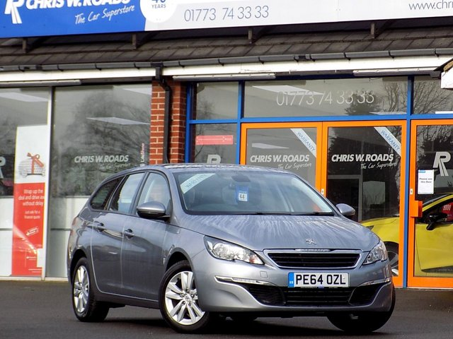 USED 2014 64 PEUGEOT 308 1.6 BLUE HDi SW ACTIVE 5dr * Sat Nav * *ONLY 9.9% APR*