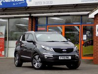USED 2015 15 KIA SPORTAGE 1.7 CRDi 3 SAT NAV ISG 5dr *ONLY 9.9% APR with FREE Servicing*