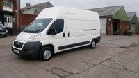 2014 CITROEN RELAY 2.2 35 L3H3 HDI 1d 129 BHP X HI/ROOF 1 OWNER 2 KEYS FREE 12 MONTHS WARRANTY COVER  £6190.00