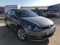 2013 VOLKSWAGEN GOLF 1.6 SE TDI BLUEMOTION TECHNOLOGY 5d 103 BHP £9250.00