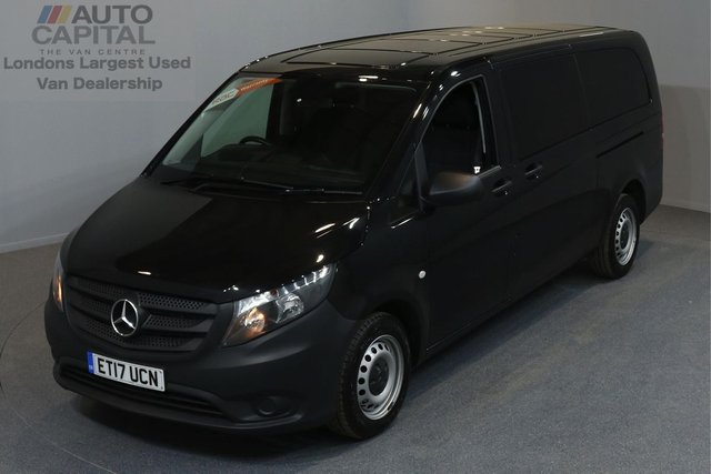 2017 17 MERCEDES-BENZ VITO 2.1 114 BLUETEC TOURER PRO 5d 136 BHP AUTO RWD LWB A/C REV.CAM MINIBUS 9SEAT EURO 6 ENGINE  ONE OWNER FROM NEW