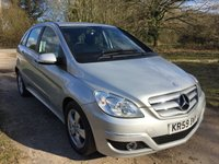 USED 2009 59 MERCEDES-BENZ B CLASS 1.5 B160 SE 5d AUTO 95 BHP 50 MPG, low mileage