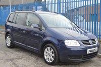 2006 VOLKSWAGEN TOURAN 1.9 SE TDI 7 STR 5d 103 BHP £2995.00