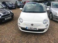 2012 FIAT 500 0.9 LOUNGE 3d 85 BHP £4500.00