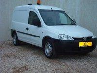 2009 VAUXHALL COMBO 1.2 2000 CDTI 1d 73 BHP £999.00