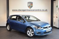 USED 2014 64 VOLKSWAGEN GOLF 2.0 MATCH TDI BLUEMOTION TECHNOLOGY 5DR 148 BHP + FULL VW SERVICE HISTORY + 1 OWNER FROM NEW + BLUETOOTH + SPORT SEATS + DAB RADIO + USB/AUX PORT + CRUISE CONTROL + HEATED MIRRORS + PARKING SENSORS + 16 INCH ALLOY WHEELS +