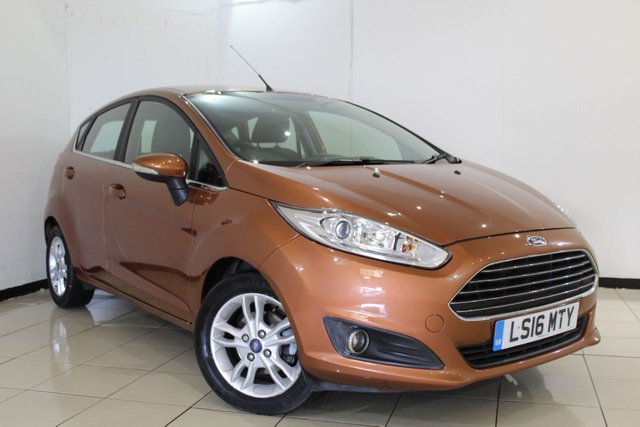 View our 2016 16 FORD FIESTA 1.5 ZETEC TDCI 5DR 74 BHP