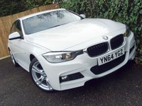 USED 2014 64 BMW 3 SERIES 2.0 320D M SPORT 4d 181 BHP
