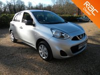 USED 2014 14 NISSAN MICRA 1.2 VISIA DIG-S 5d 97 BHP £0 Years Tax. Bluetooth