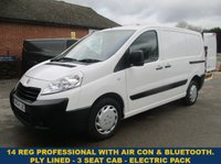 USED 2014 PEUGEOT EXPERT PROFESSIONAL L1H1 WITH AIR CON & ELECTRIC PACK