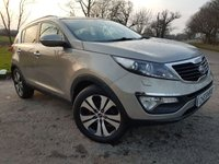 USED 2011 11 KIA SPORTAGE 1.7 CRDI 3 5d GLASS ROOF & LEATHER